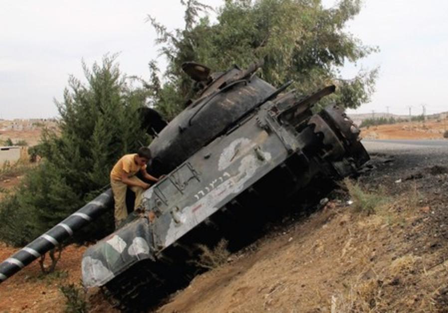 Syrian tank 521