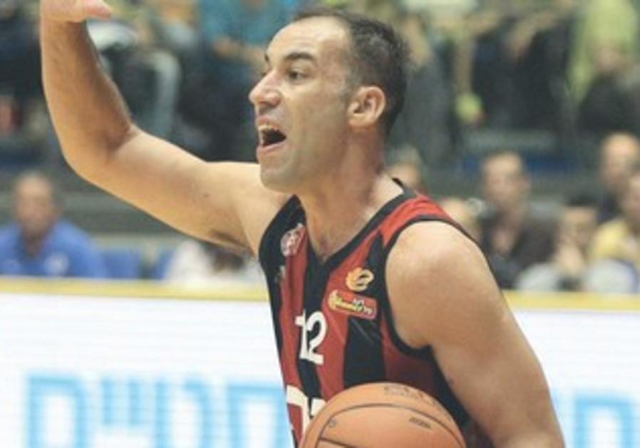 Hapoel Jerusalem guard Meir Tapiro
