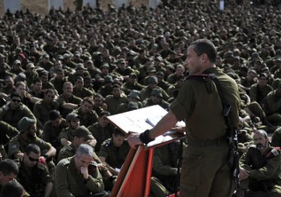 IDF reservists during Operation Pillar of Defense