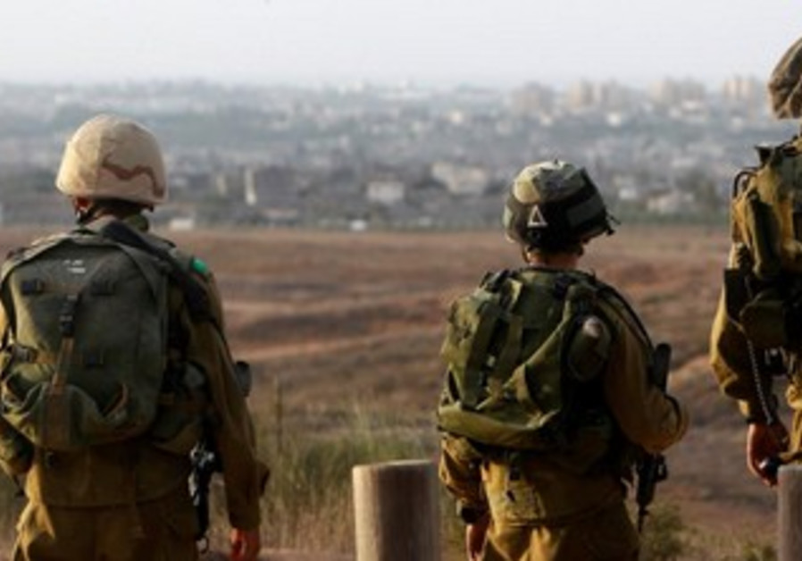 IDF soldiers on southern border