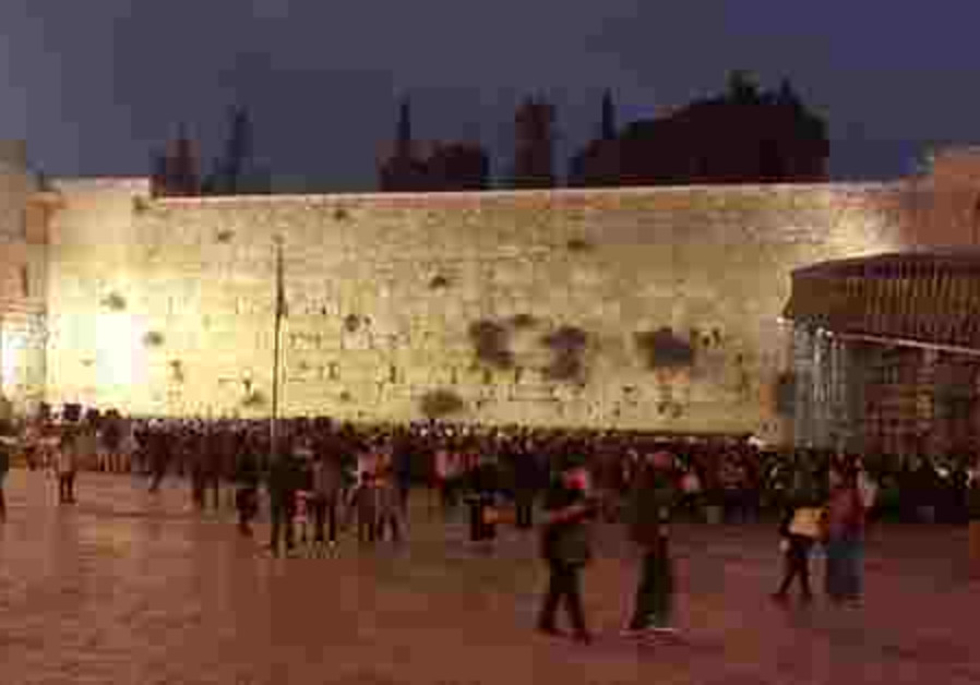 kotel IDF prayers 521