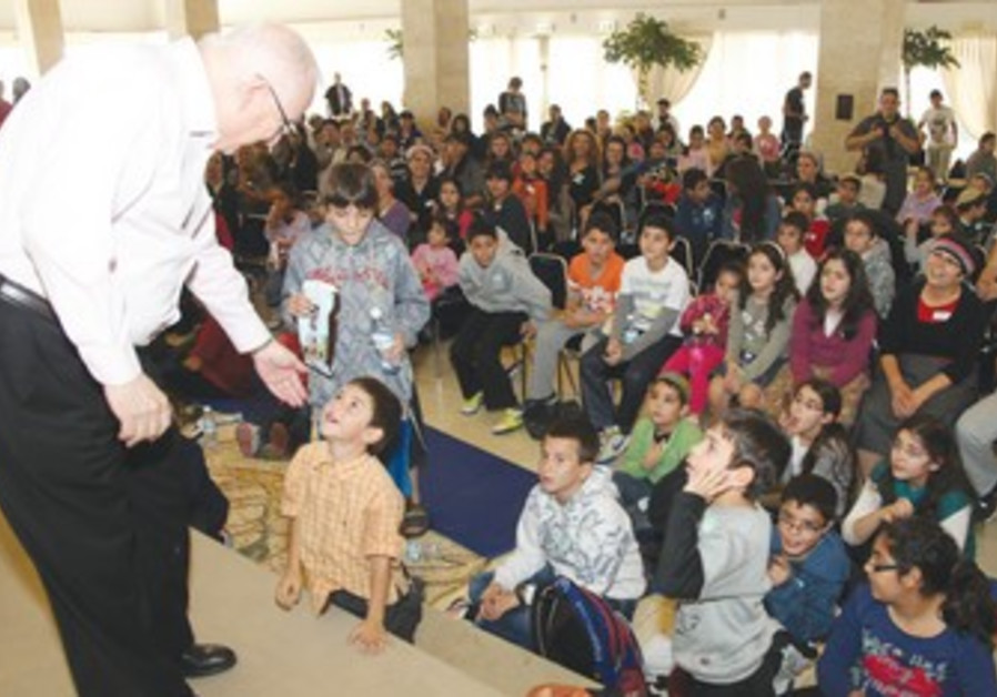 Rivlin and children of South