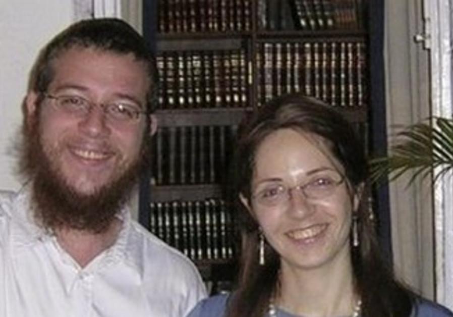 Gavriel and Rivka Holtzberg