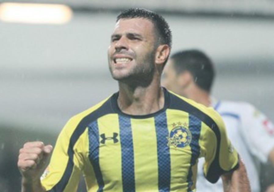 MACCABI TEL AVIV striker Roberto Colautti