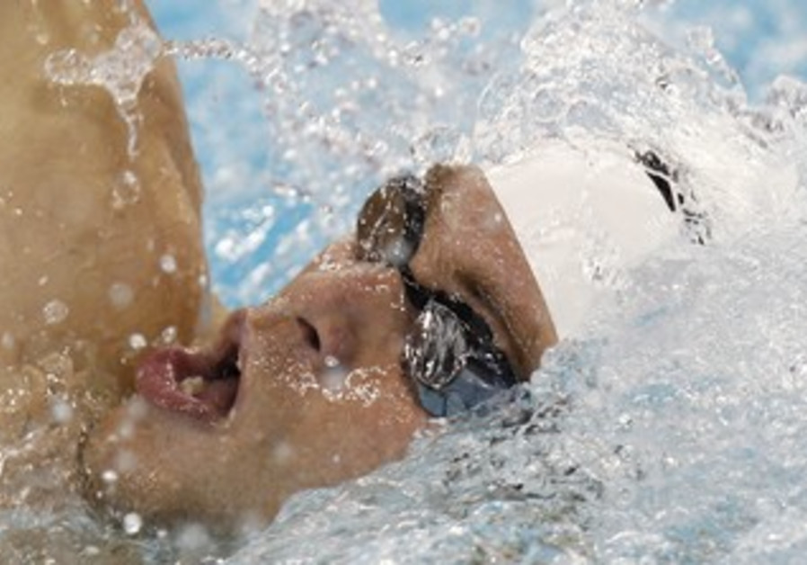 Swimmer Gal Nevo