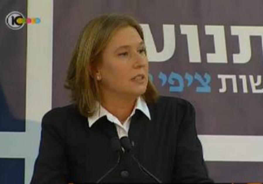 Tzipi Livni announces formation of 'Movement' part