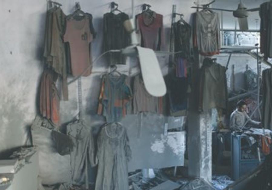 Gaza clothes shop damaged during IAF strike
