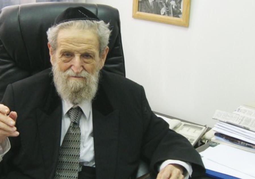 Rabbi Shear Yashuv Cohen.
