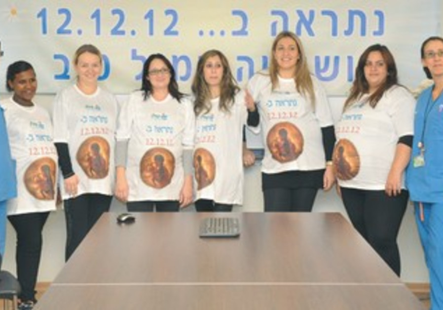 Women scheduled for 12/12/12 C-sections