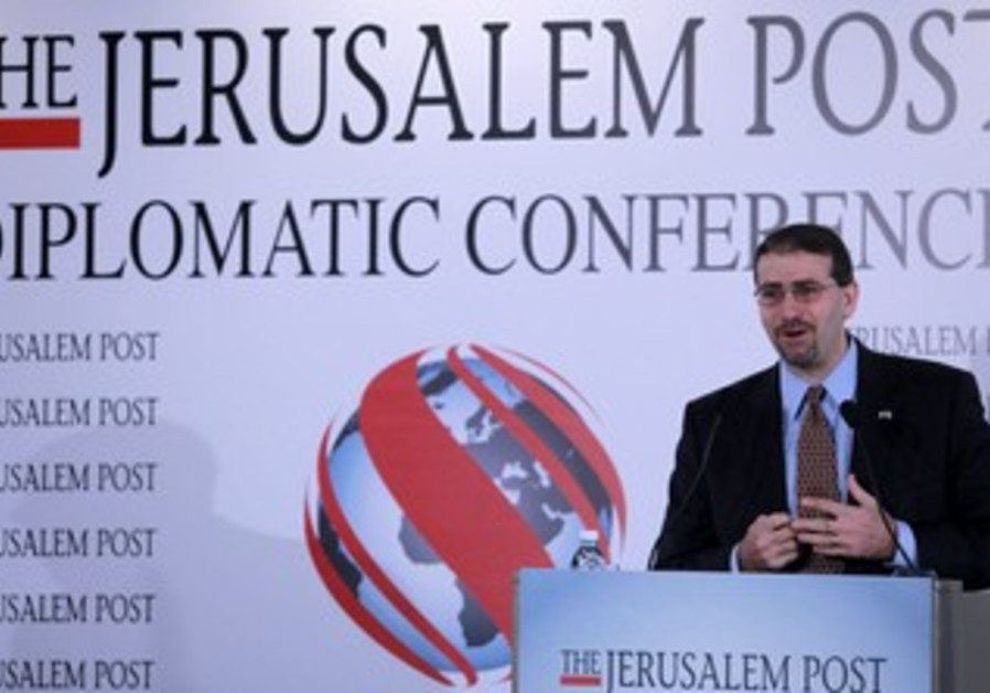 Dan Shapiro at 'The Jerusalem Post' conference
