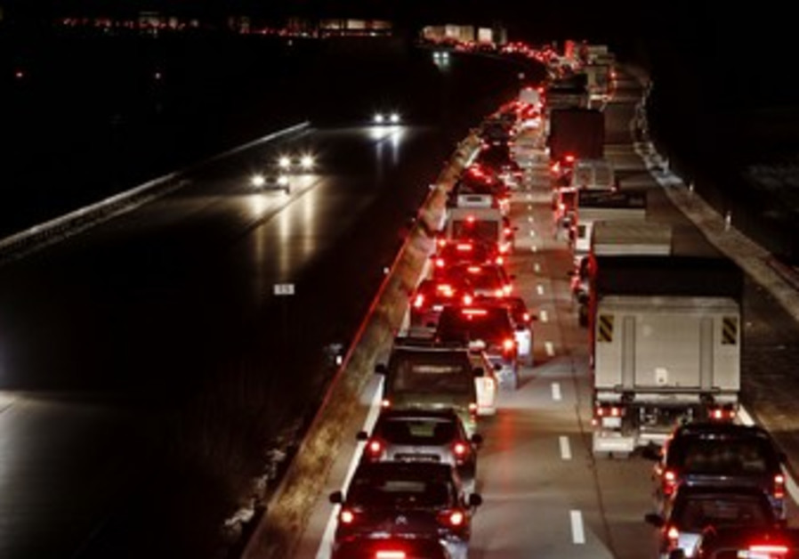 Traffic jam [illustrative].