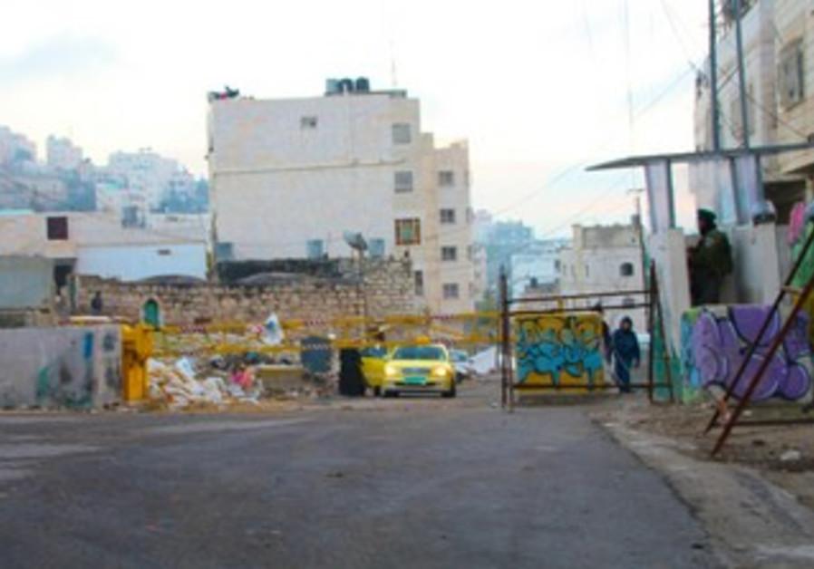 Site of Hebron shooting