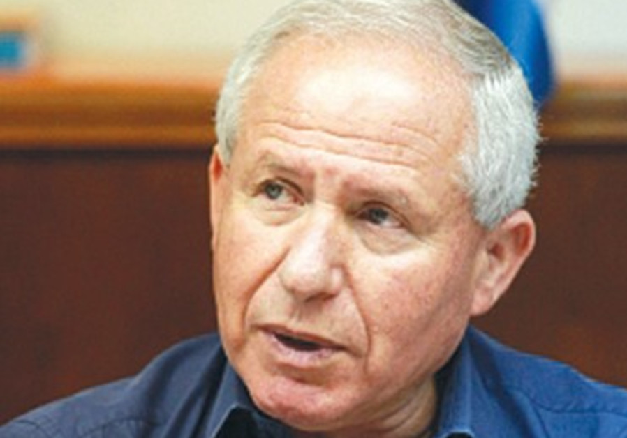 Former Home Front Defense Minister Avi Dichter