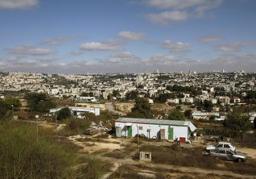Givat Hamatos neighborhood in east Jerusalem.