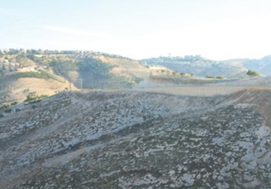 E1 area linking Jerusalem and Ma'aleh Adumim