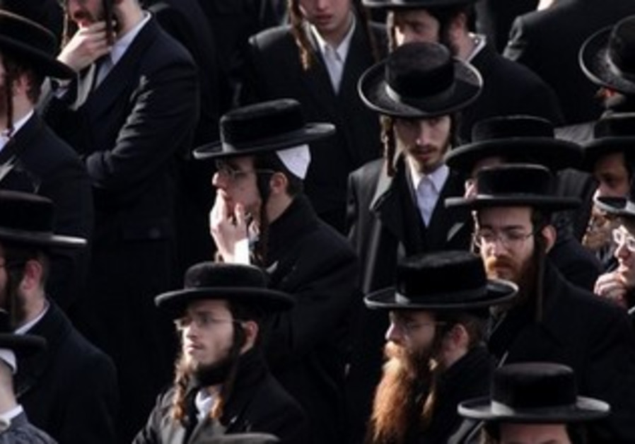 Haredi men in Jerusalem