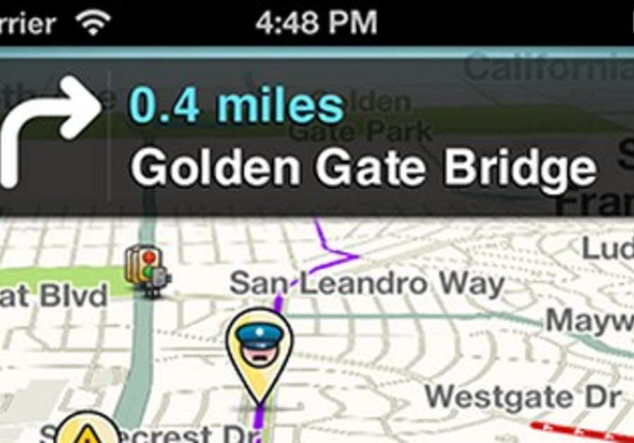 Waze navigation application