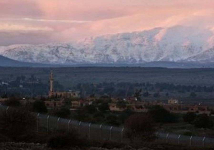 Syria-Israel border