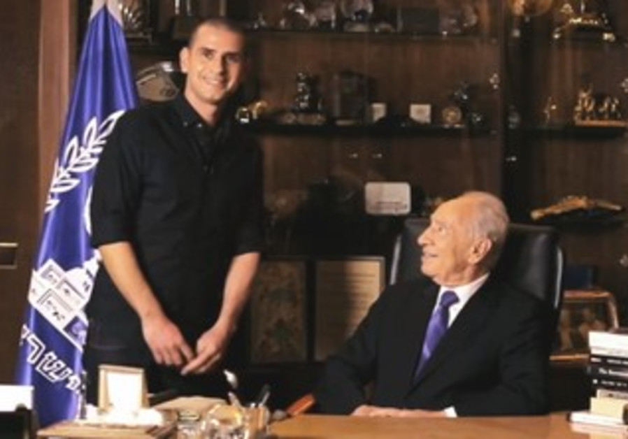 President Shimon Peres in election video