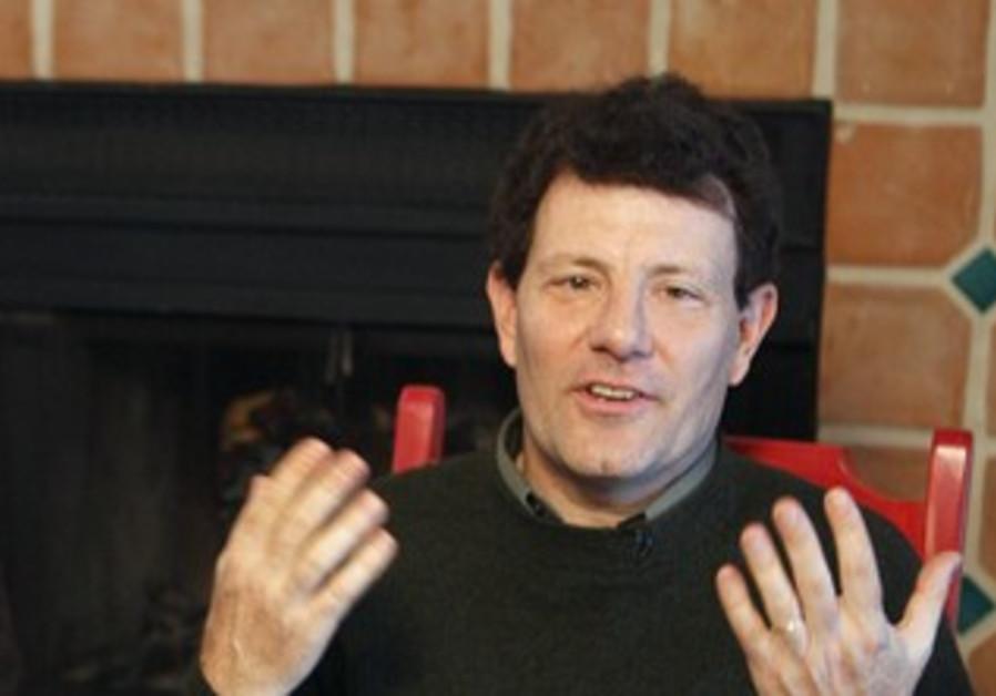'New York Times' columnist Nicholas Kristof