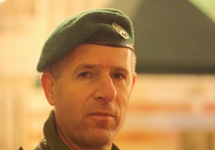 Border police commander Taliya Shaanan