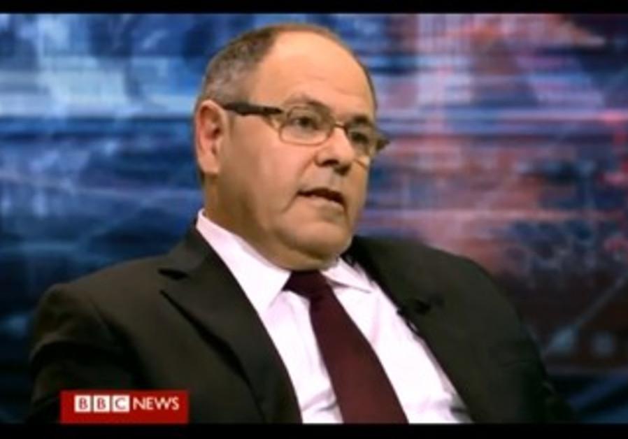 """Dani Dayan on BBC show """"Hardtalk,"""" January 2013."""