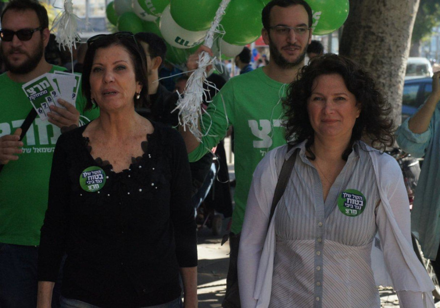 Meretz hits streets on eve of elections January 21, 2013