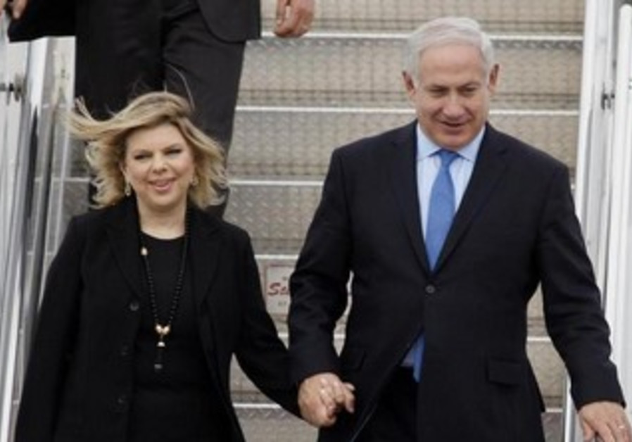 Binyamin and Sara Netanyahu in Ottawa May 30, 2010
