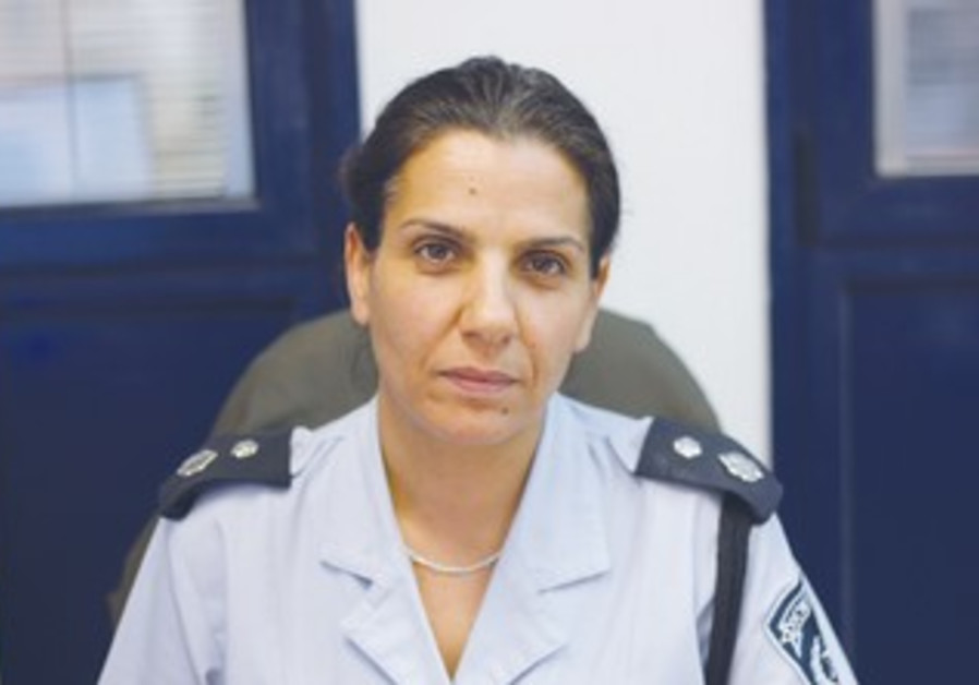 CH.-SUPT. MIRI PELED, head of the Intelligence and Investigations branch of the Yiftach sub-district