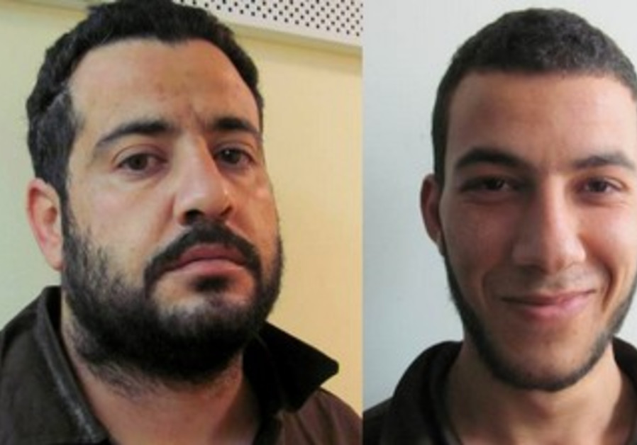 Yussef Waradeh (left) and Said Gasser (right) who are suspected of plotting to kidnap a soldier.