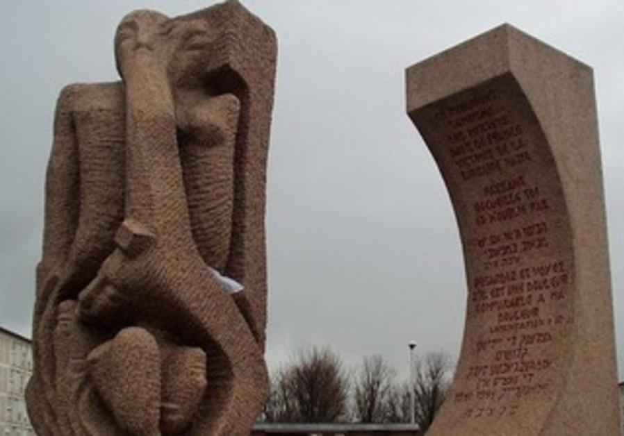 The Shoah Memorial at Drancy by Shlomo Selinger.