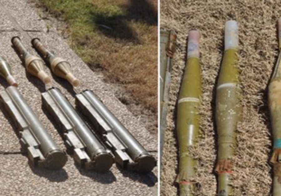 Weapons found stashed at Arab school in Galilee