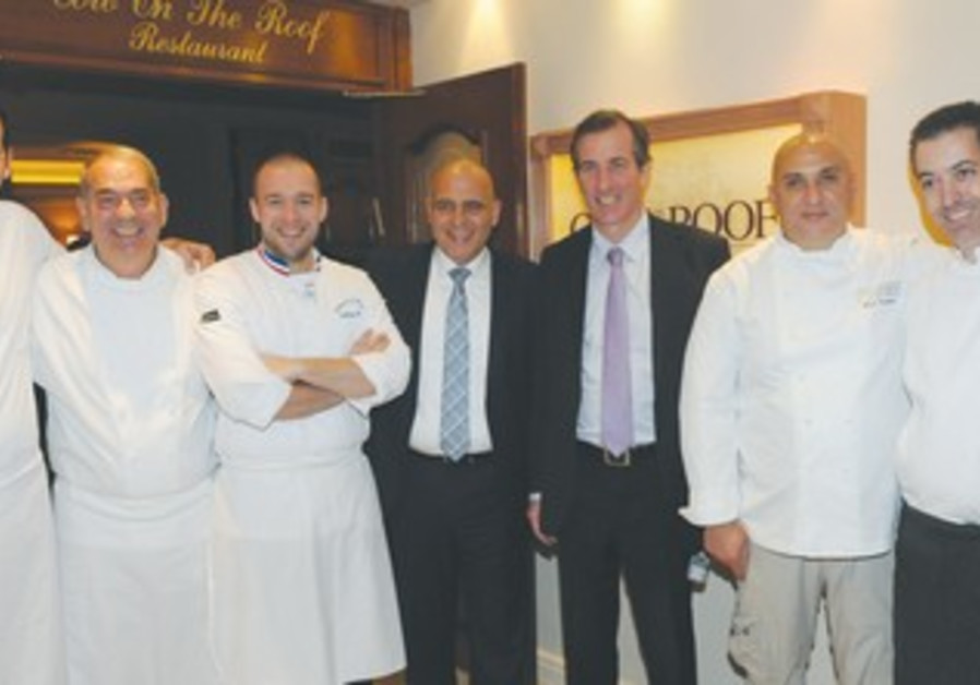 French and Israeli chefs