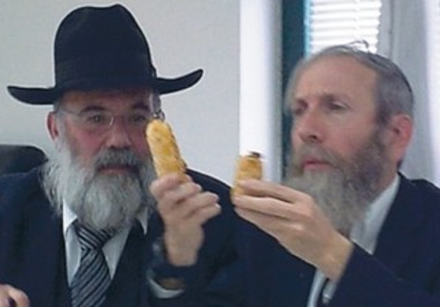 HAGGAI BAR-GIORA (left) and Yaakov Sebag