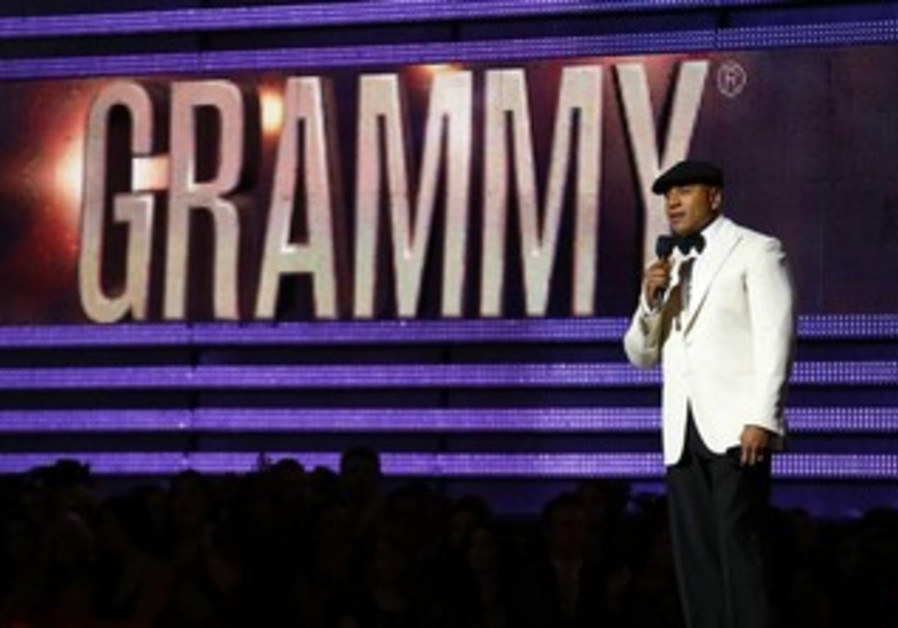 Host LL Cool J speaks at the 55th annual Grammy Awards in Los Angeles, California, February 10, 2013