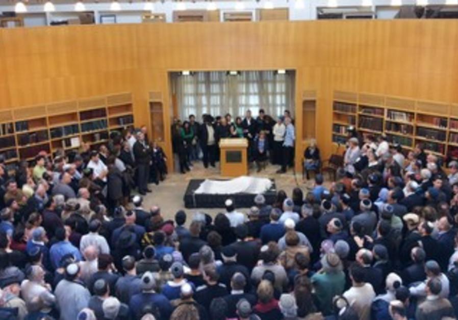 Rabbi Hartman funeral