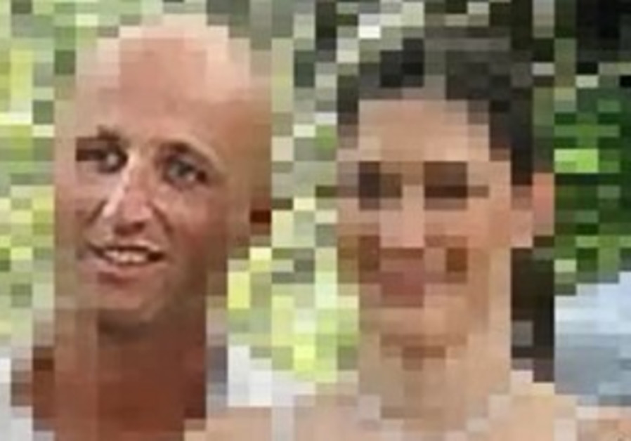 Ben Zygier at his wedding, captured from an image broadcast by ABC News.