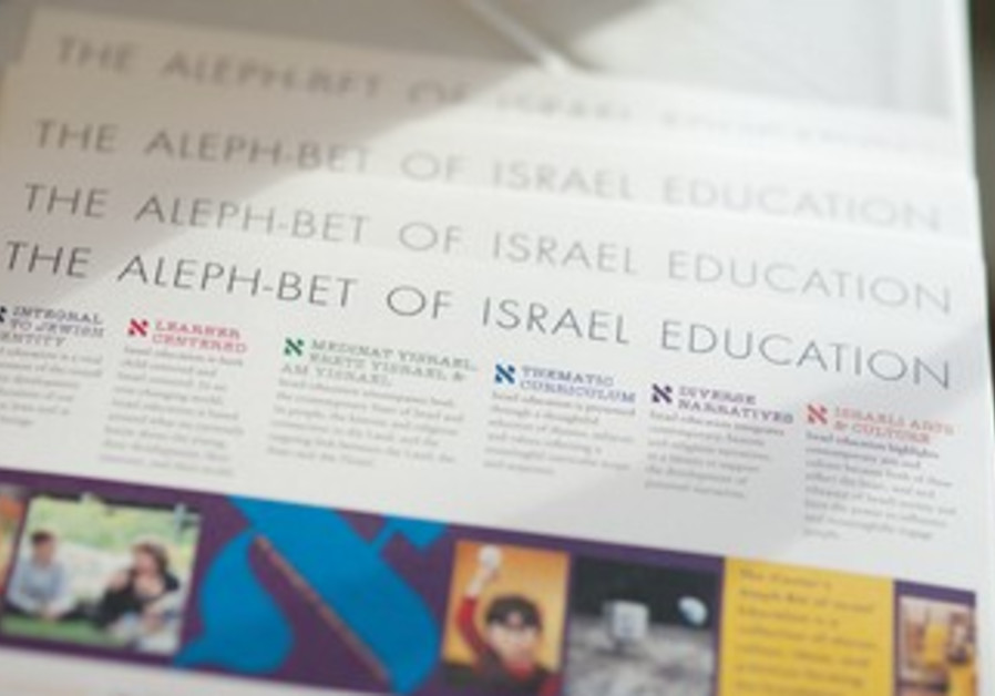 Working together to create language for teaching on Israel