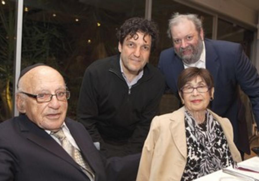 KURT AND EDITH Rothschild with David Koschitzky