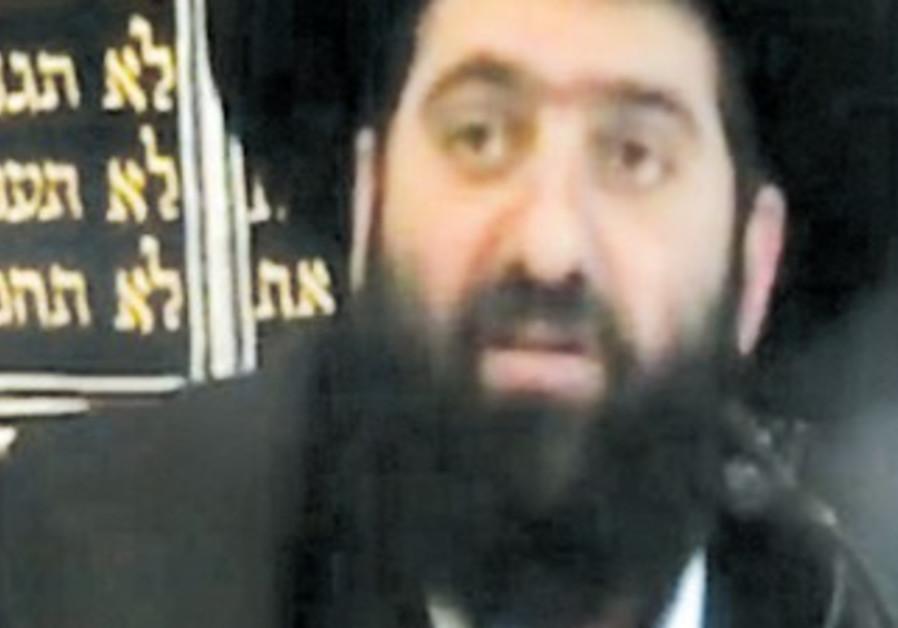 Rabbi Eyal Amrami, the rabbi of a Sephardi synagogue in Jerusalem's Har Homa neighborhood