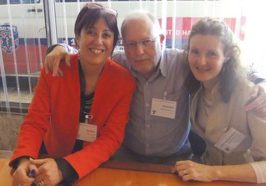 Prof. Yael Latzer (left), Prof. Daniel Stein and Dr. Rachel Bachner- Melman