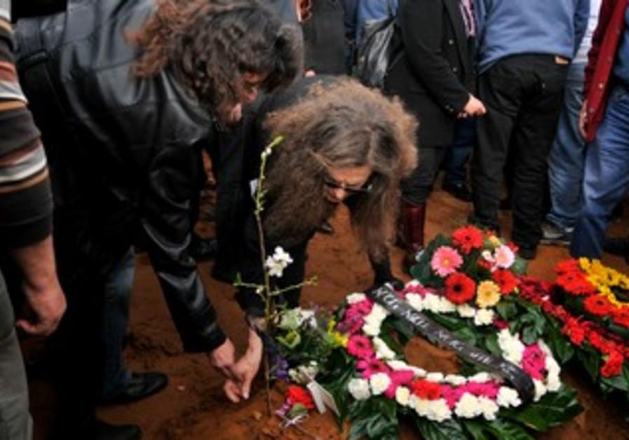 Shmulik Kraus funeral