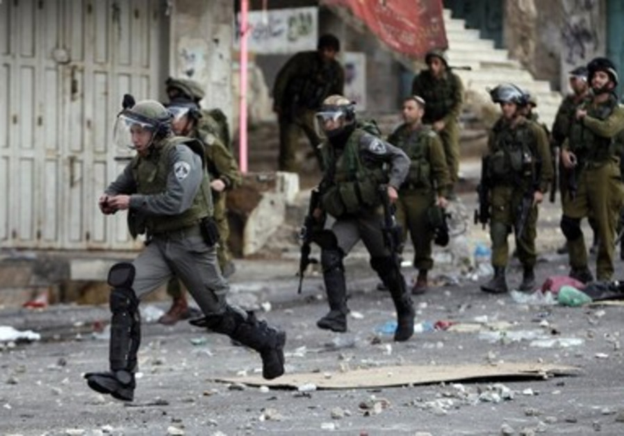 Clashes in Hebron [file]