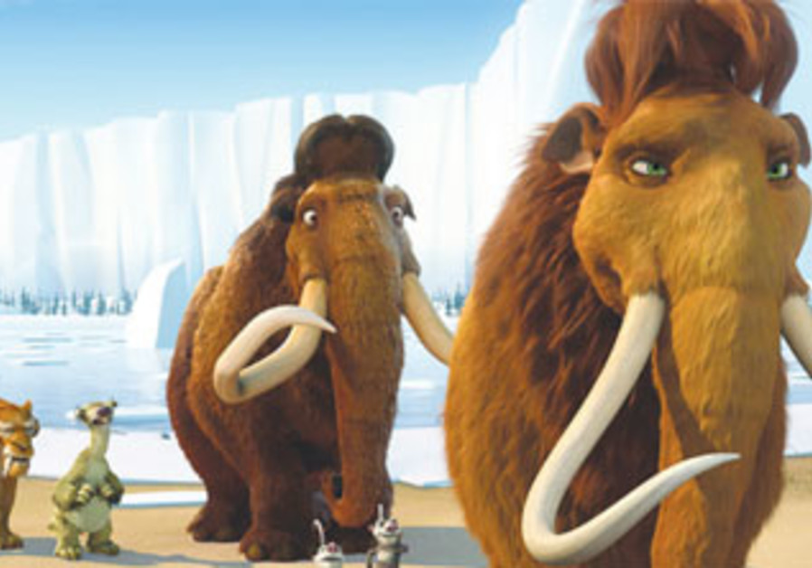 An image from the movie Ice Age
