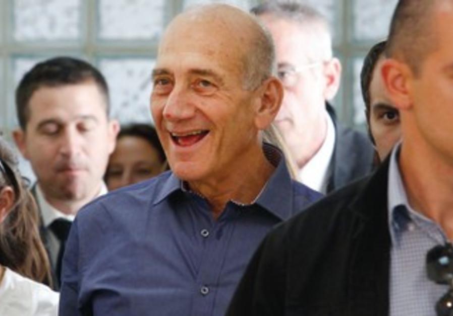 Ehud Olmert after verdict.