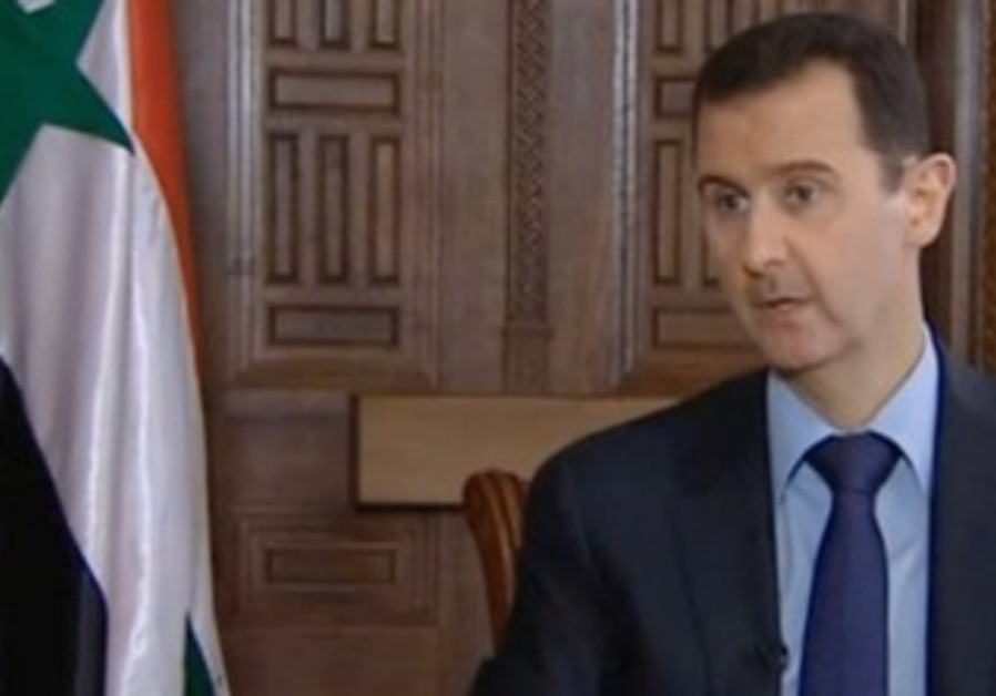 Syrian President Bashar Assad gives 'Sunday Times' interview, March 2, 2013