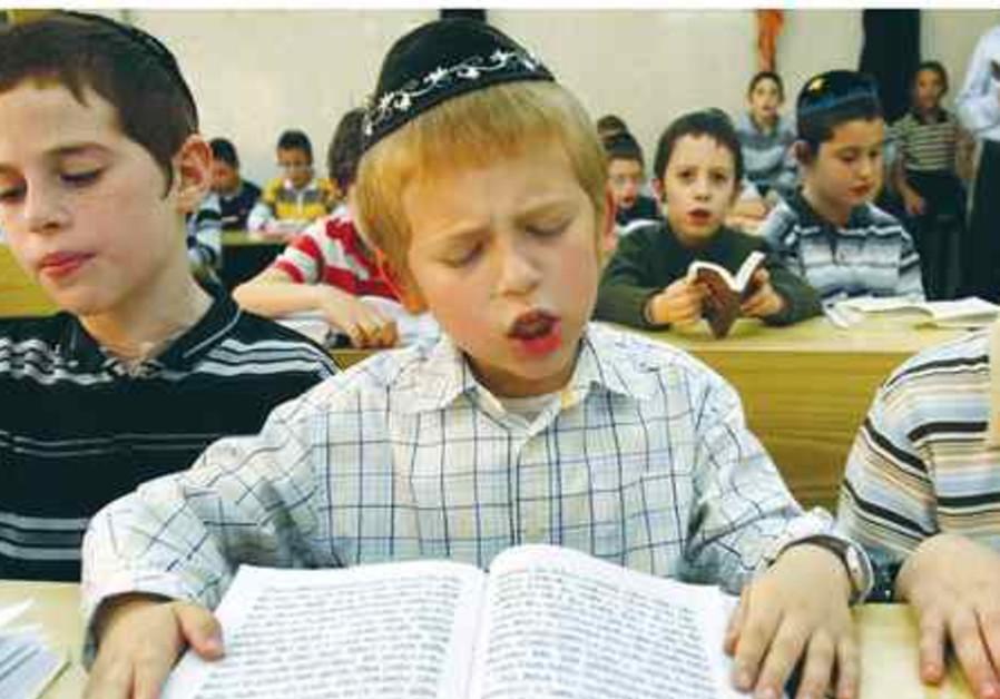 Jewish boy reads 521
