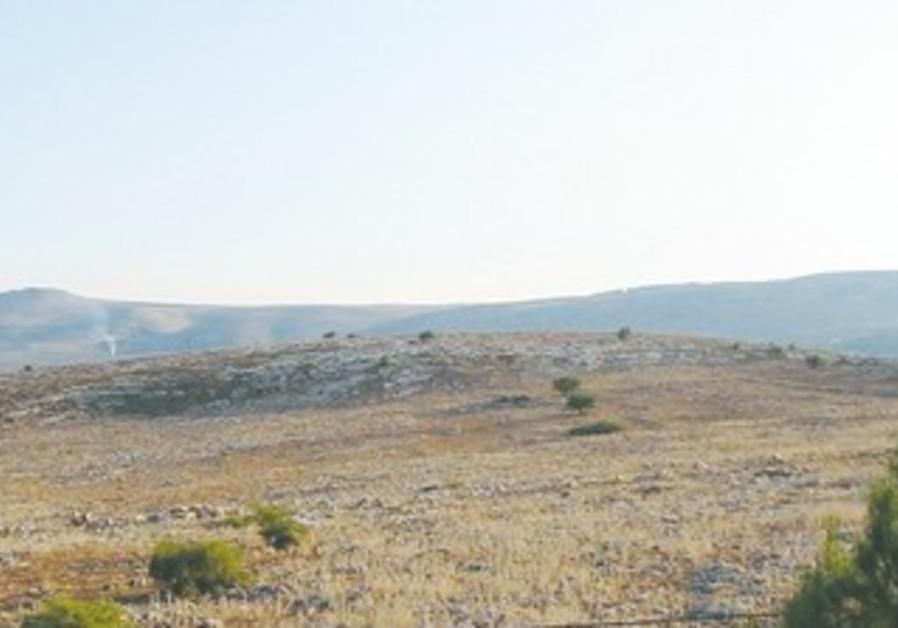 Ramat Arbel in Lower Galilee.