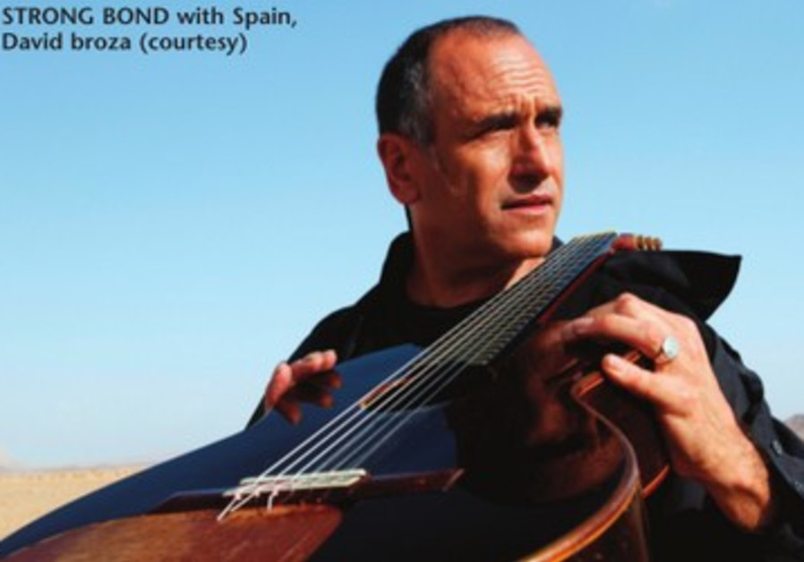 STRONG BOND with Spain, David broza