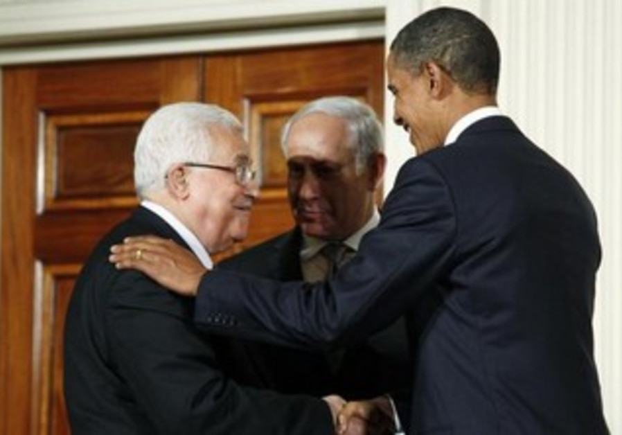Netanyahu, Obama, and Abbas